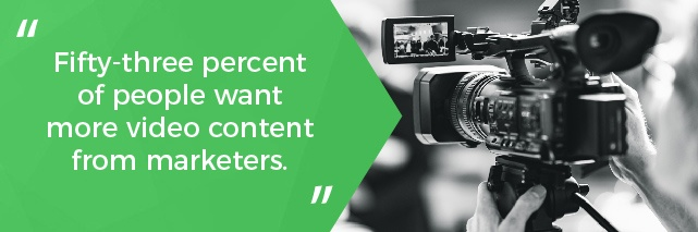 Video Converts Better Than Text, and other Marketing Stats You Should Know Graphic 2